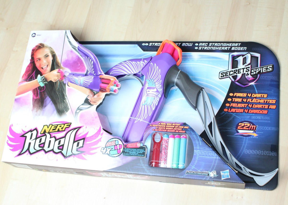 Mommy Monday winactie Nerf Rebelle Strongheart bow