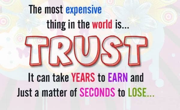 41 Best Quotes About Trust Issues With Images Good