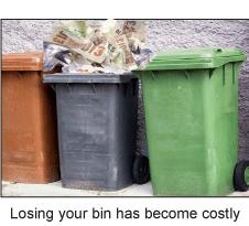 Wheelie bins