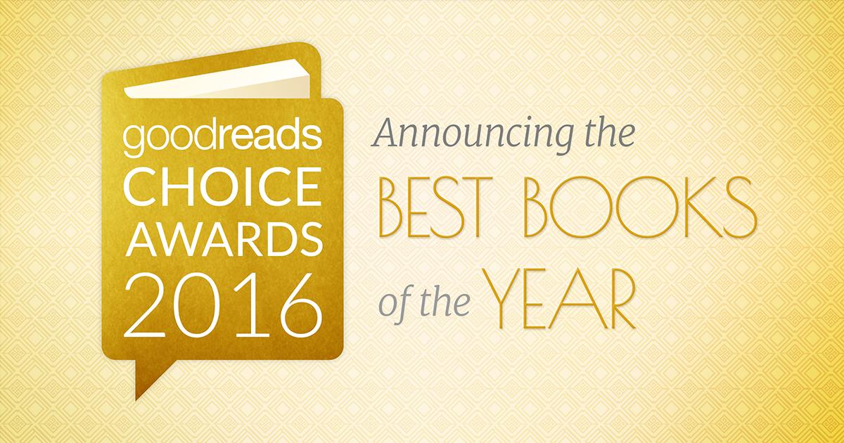 Best Books 2016 \u2014 Goodreads Choice Awards