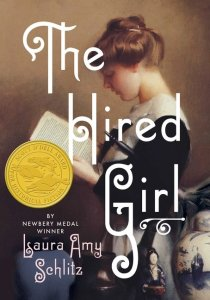 The_Hired_Girl by Laura Amy Schlitz book cover
