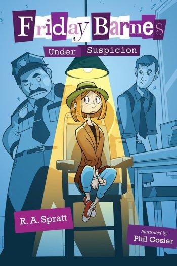 Friday Barnes Under Suspicion book cover