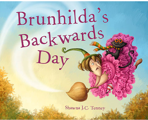 Brunhilda's backwards day book cover