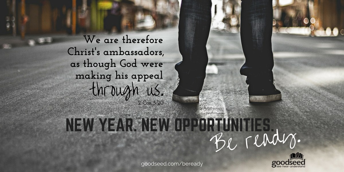 New year, new opportunities to share the gospel