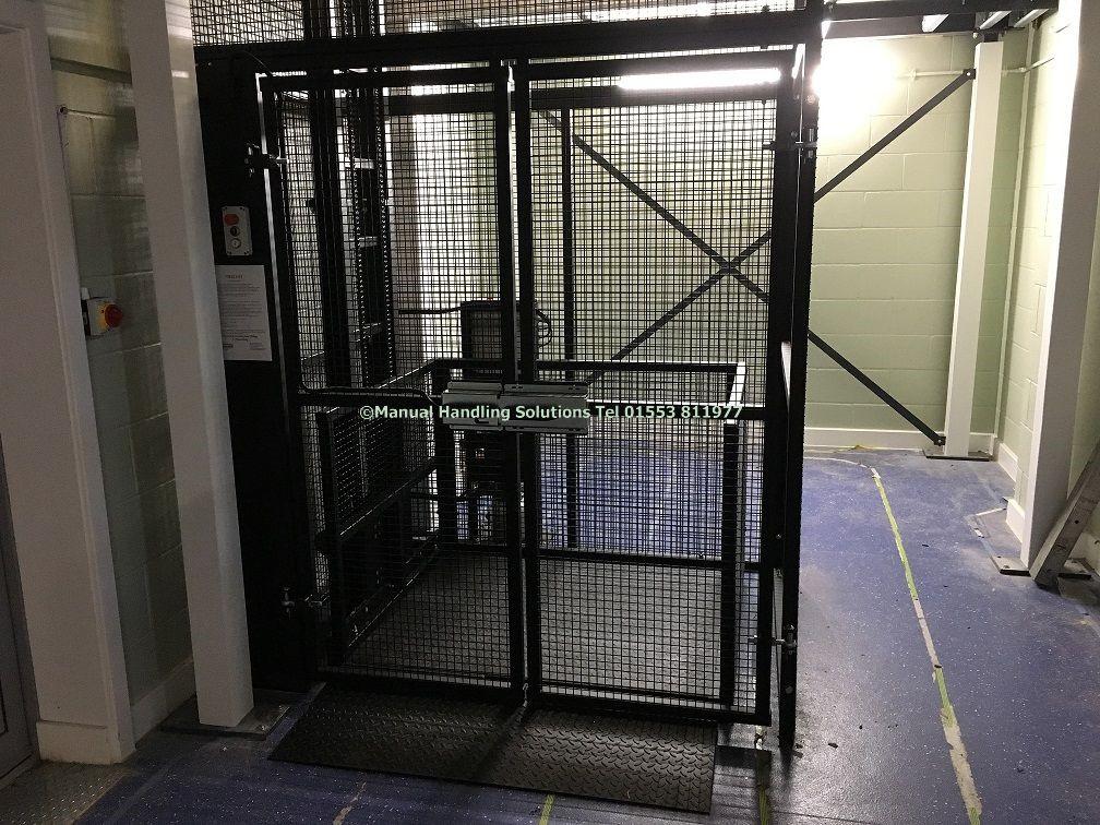 Mezzanine Goods Lifts Platform Will Be 1300mm X 1100mm