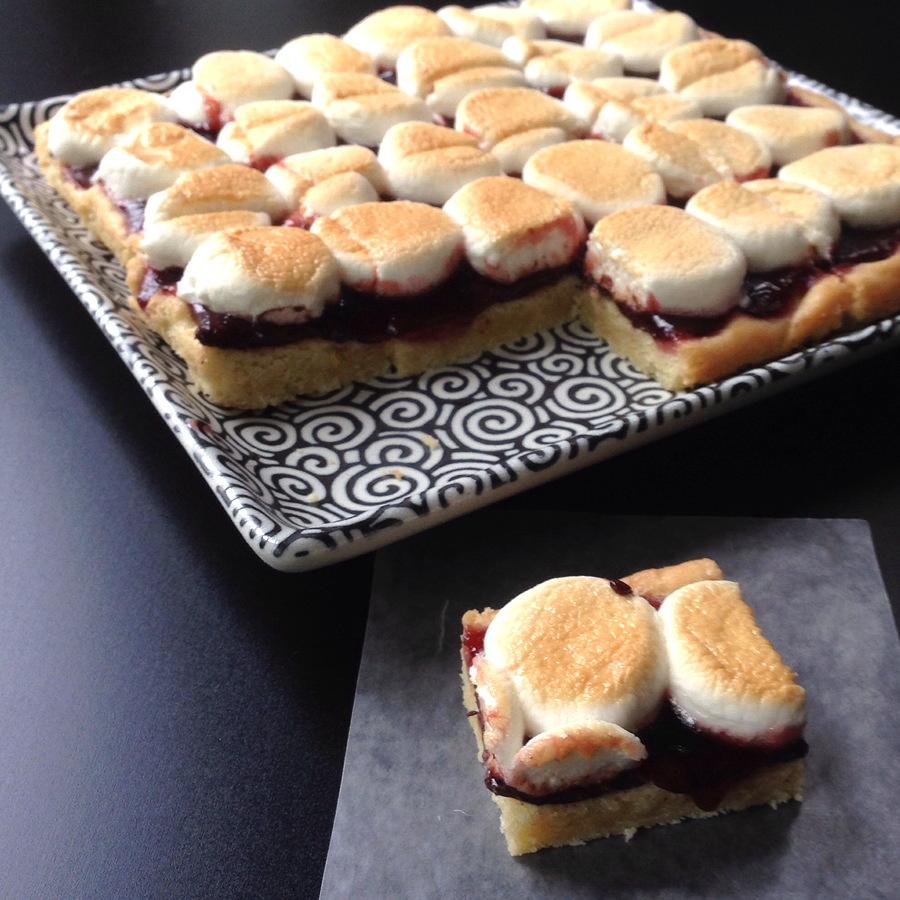 #Cookielicious Adaptable Marshmallow Bar Cookies
