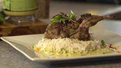 H-E-B That Green Sauce with Grilled Quail