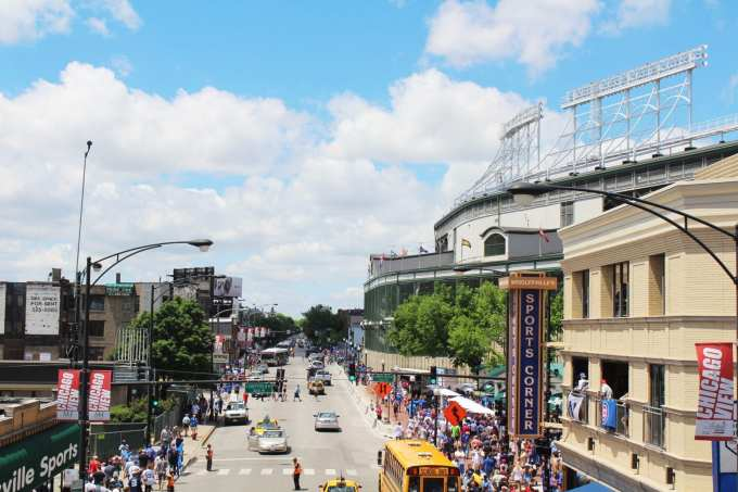 7 Places you need to visit in Chicago // Wrigley Field