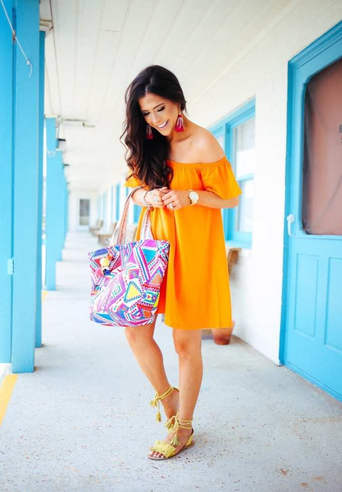 The sweetest thing blog ots// 5 ways to style off the shoulder