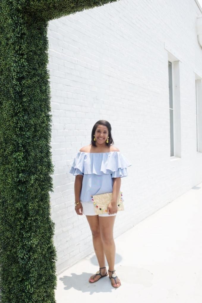 sparkling southerner ots// 5 ways to style ots
