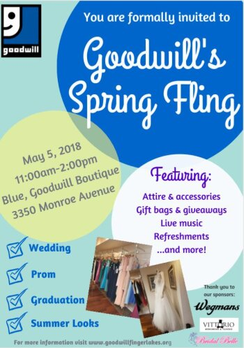 Spring Fling with Goodwill!