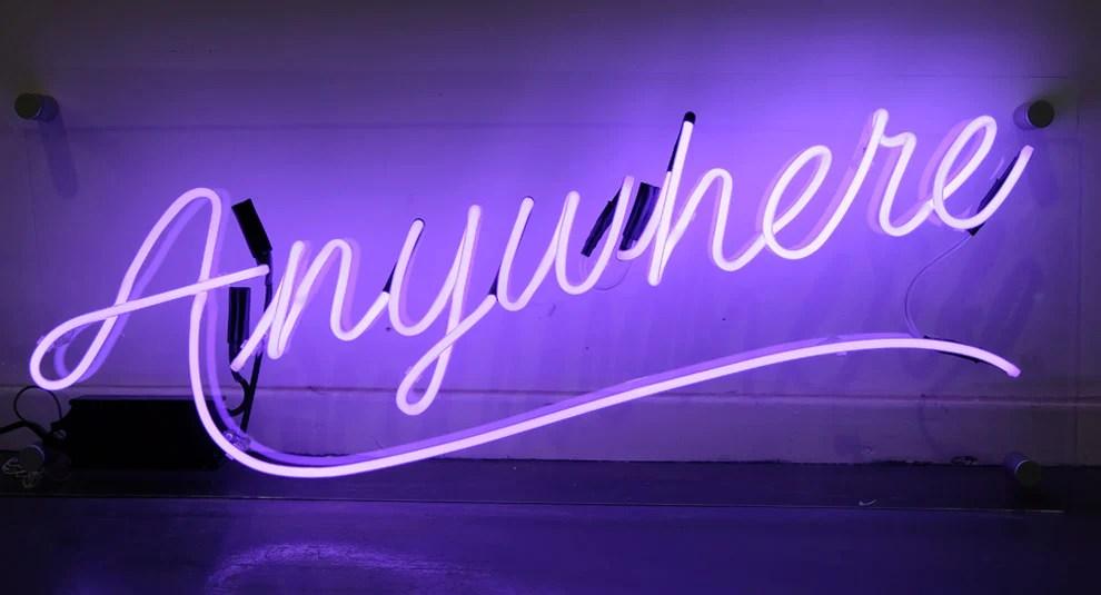 Neon Signs London \u2013 Goodwin  Goodwin™ - London Sign Makers
