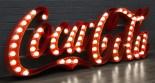 Coca Cola Diner Light Up Sign