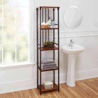 Declutter with Bathroom Shelves  goodworksfurniture