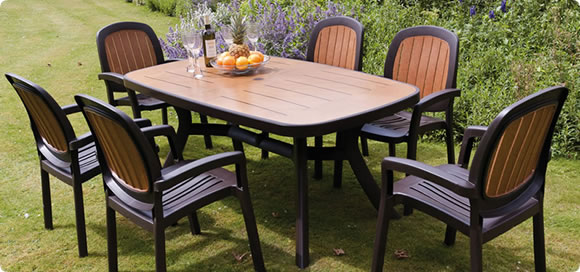 Plastic Garden Furniture Cheap In Price And Easy To