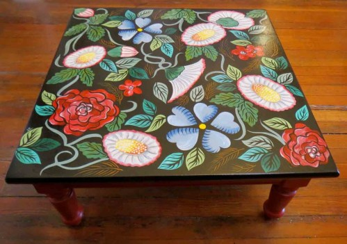 Medium Of Hand Painted Furniture
