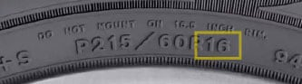 Tire Size Chart Goodyear Tires