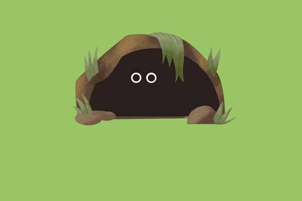 Alone in my burrow