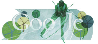 Google Doodle Nordische Kombination