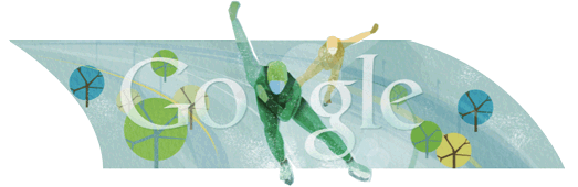 Google Doodle Speed Skating