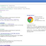 Neuer Tab in Chrome 25