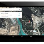 Google Maps 7.0 Tablet