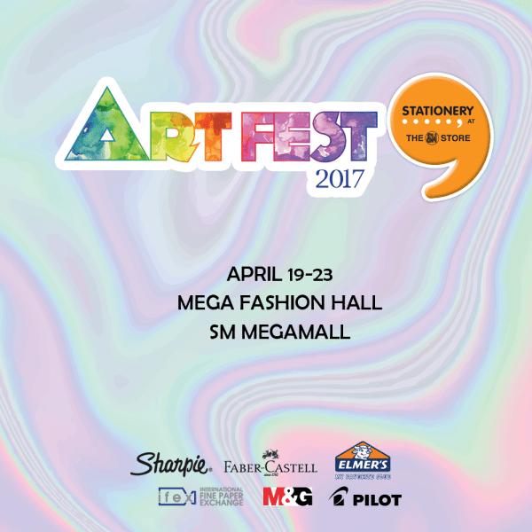 SM Stationery Art Fest