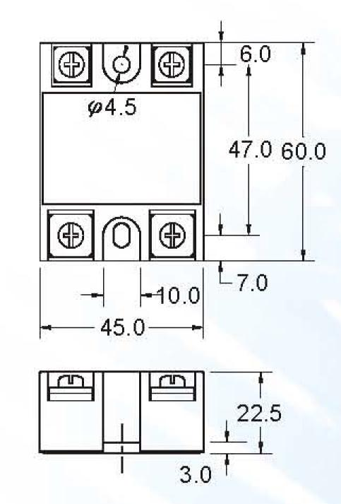 solid state relay ac input