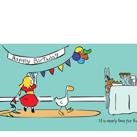 Goose  Friends Happy Birthday Goose!