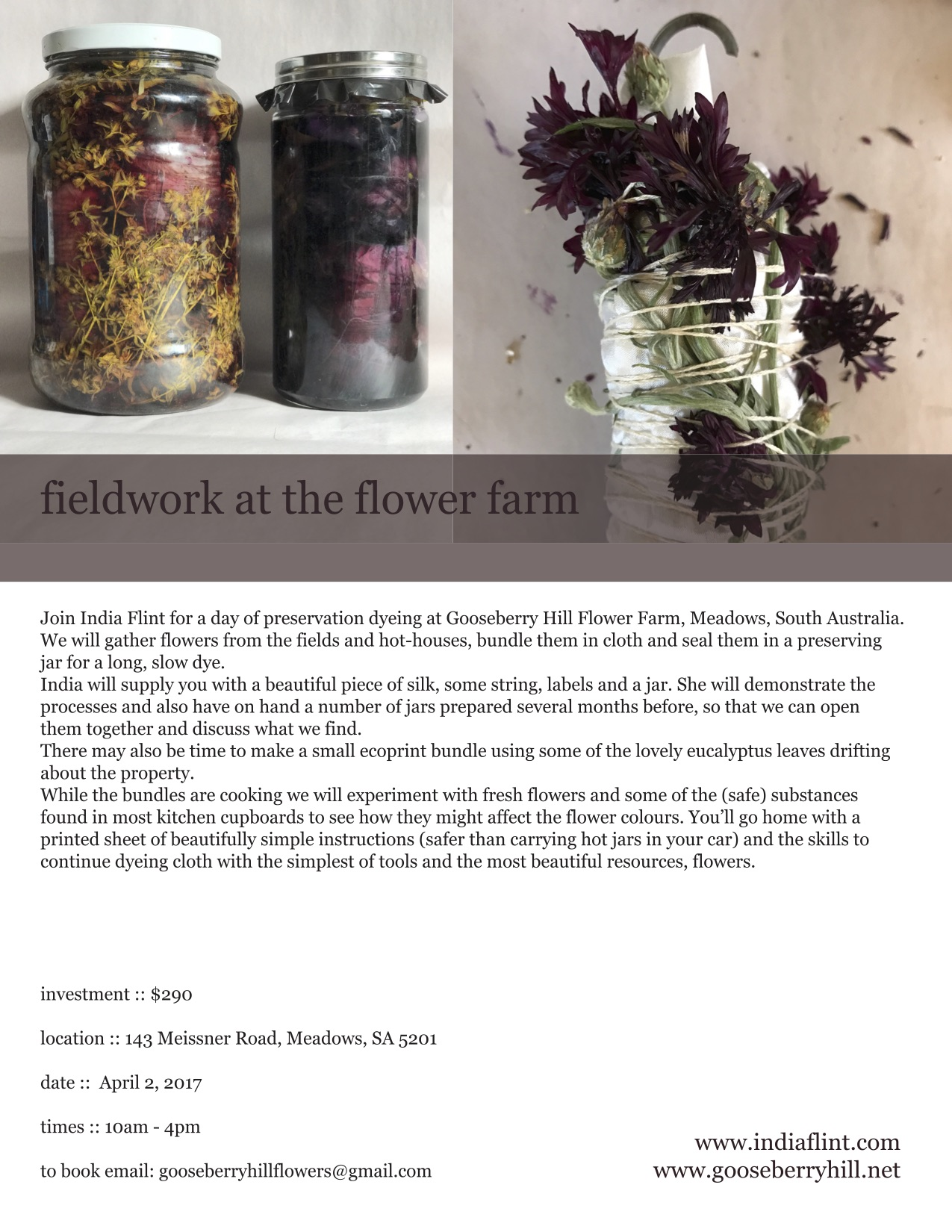 FlowerWORKSHOP