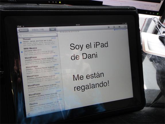 Se regalan un iPad, un PS3 y un turntable