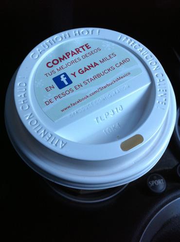 Tapa de vaso de café