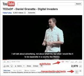 Mi charla de TEDxDF, con subtítulos en inglés