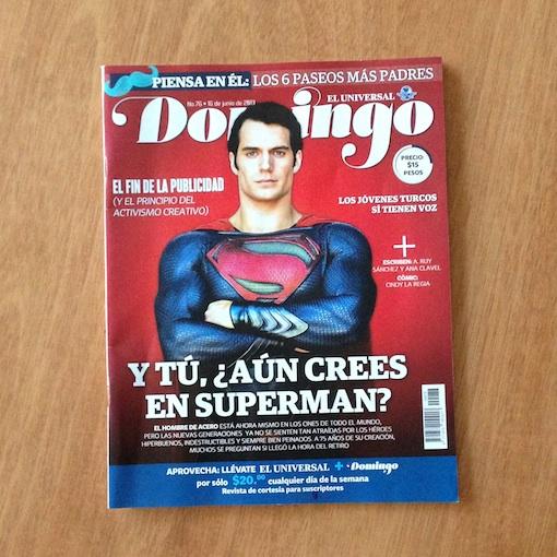 """Portada de la revista """"Domingo"""" - 16 Junio 2013"""