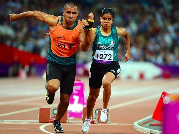 Daniela compitiendo en la final de los JJOO 2012