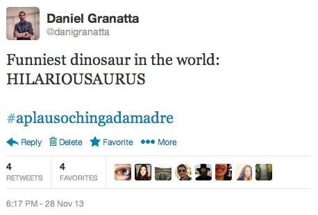 El dinosaurio más divertido