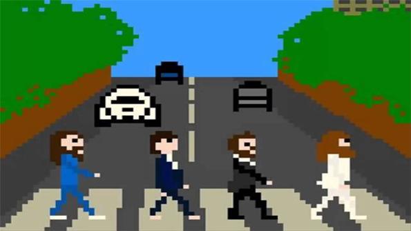 Beatles en versión 8-bit