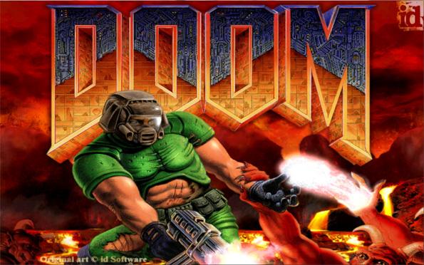 Portada del videojuego DOOM
