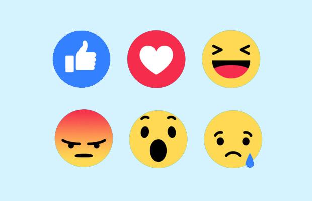 Nuevas reacciones de Facebok