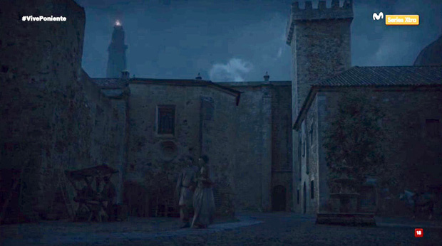 Cáceres en Game of Thrones