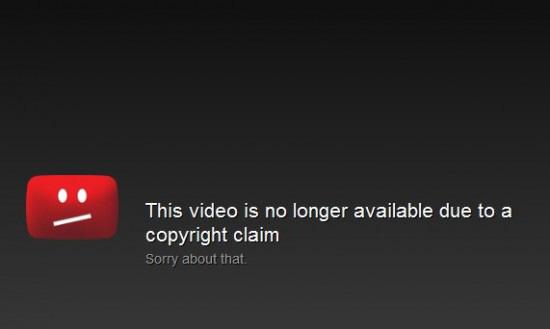 Reclamo de copyright