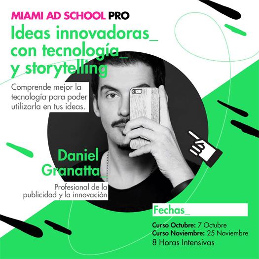 Flyer - Curso MAS PRO Daniel Granatta
