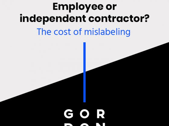 Gordon Media Company Blog - employee or independant contractor