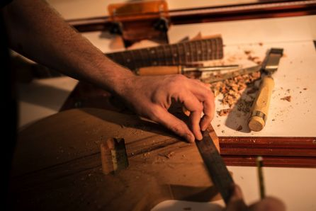 Gordon Smith Guitars workshop