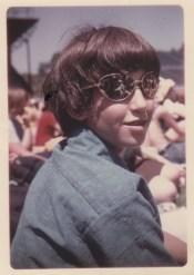 age 12 at Janis Joplin concert