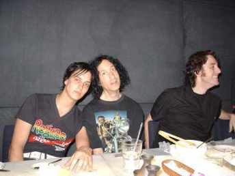 With Julian and Richard Priest- Dinner in Tokyo