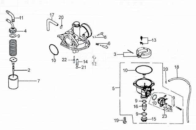 chinese 110cc atv wiring diagram get free image about how to remove throttle cable from atv carb at 110cc Atv Carburetor Diagram
