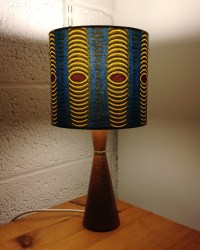 'African Ankara' vintage lamp - Gosh and Absolutely