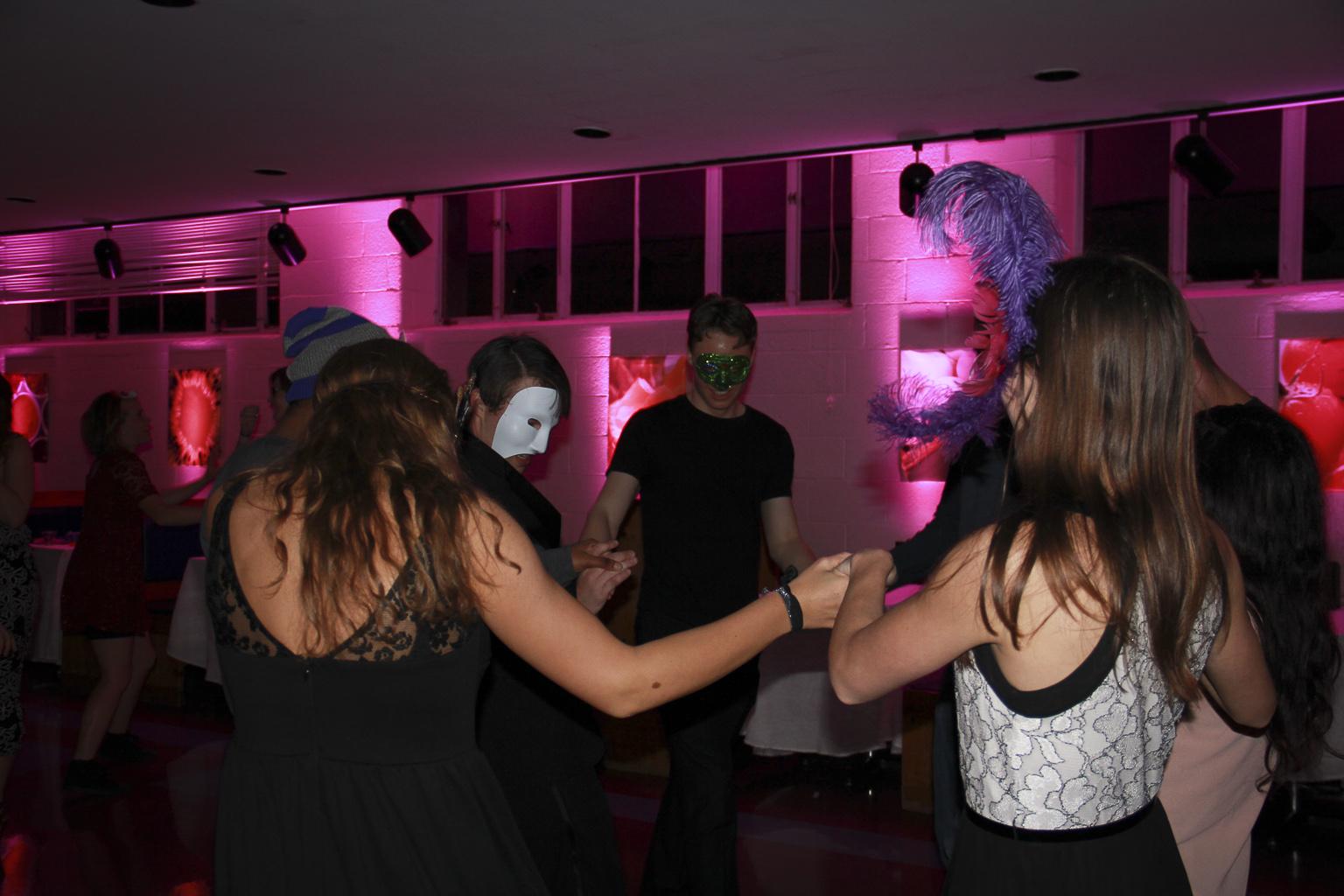 Fall Flannel Wallpaper Masquerade Dance Goshen College