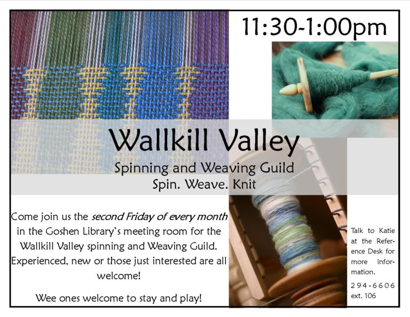 Wallkill Valley spinning and weaving guild